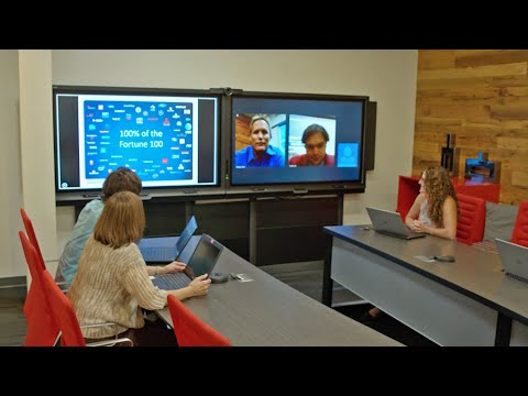 Collaborate Remotely With The SMART Room System
