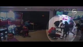 Boliviana que abandonó a su hijo en aeropuerto se defendió - CHV Noticias