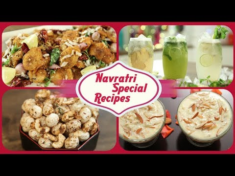 Best 9 Recipes for Navratri | Navratri Recipes | Navratri Special Recipes | 9 Days 9 Recipes