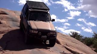 Toyota Land Cruiser Off Road: Moab 2014. Part 2