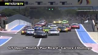 GT Open 2012 - Round 5 Paul Ricard - Carreras 1 y 2 - Triunfo de Cochito Lopez PRMotor TV Channel