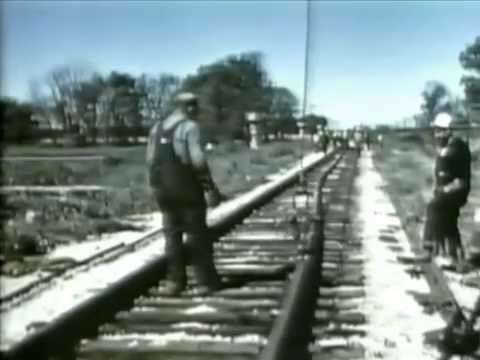 Santa Fe Railroad in the 1950s - Challenge for Tomorrow - CharlieDeanArchives / Archival Footage