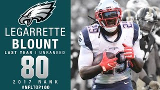 #80: LeGarrette Blount (RB, Eagles) | Top 100 Players of 2017 | NFL