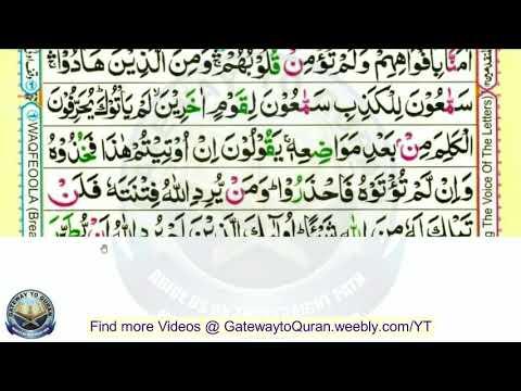 Learn Quran With Tajweed  004 Surah Al Maedah Ayah 40 To 43 Para 6