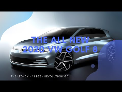 The All New 2020 VW Golf 8