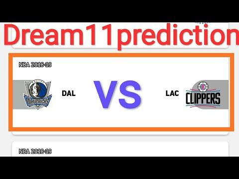 Dal Vs Lac Nba Los Angeles Clippers Vs Dallas