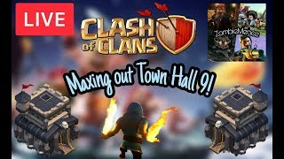 [English] Clash of Clans Livestream - Visiting your bases and having some fun