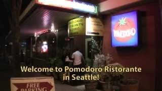 Pomodoro Ristorante ~ Seattle Italian and Spanish Restaurant with Late-Night Dining