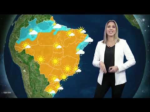 Previsão Do Tempo: Semana Começa Com Poucas Nuvens