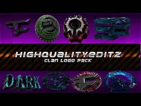 Clan logo Pack. Thanks for 300!