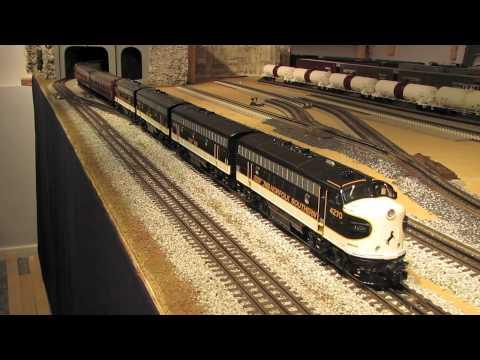 MTH Norfolk Southern F-7 ABBA Executive Train