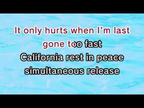 Red Hot Chili Peppers - Dani California (Karaoke And Lyrics Version)