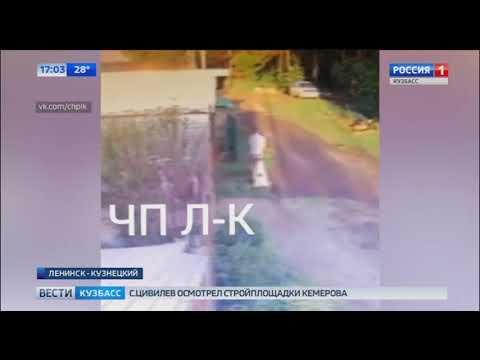 Житель Ленинска-Кузнецкого установил надгробие возле дома