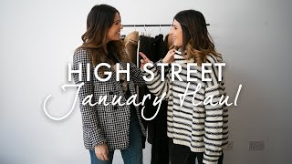 JANUARY HIGH STREET HAUL | TOPSHOP, ASOS, H&M, NEXT | WE ARE TWINSET