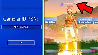 How to Change PS4 NAME in Fortnite FOR FREE! HOW TO CHANGE PSN ID! (Change Name Fortnite PS4)