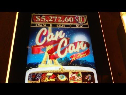 Aristocrat -  Can Can de Paris: High Kick Feature on a $3.00 bet