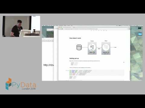 Bryan Van de Ven - Bokeh for Data Applications and Visualization