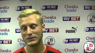Christian Scales delighted to join Reds on loan