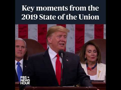 Key moments from President Trump's 2019 State of the Union