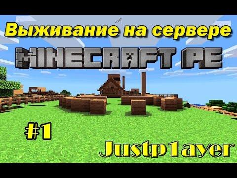 minecraft выживание на сервере