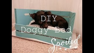 Diy Crate Doggy Bed