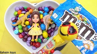 Colorful Candy Show with ABC song  Ringa Ringa Roses Toddler Rhymes