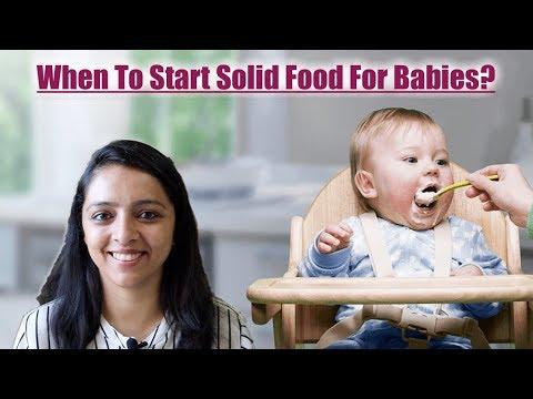 When To Start Solid Food For Babies | Age & Indicators