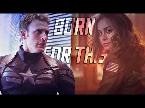 ► Steve Rogers & Carol Danvers || Born For This