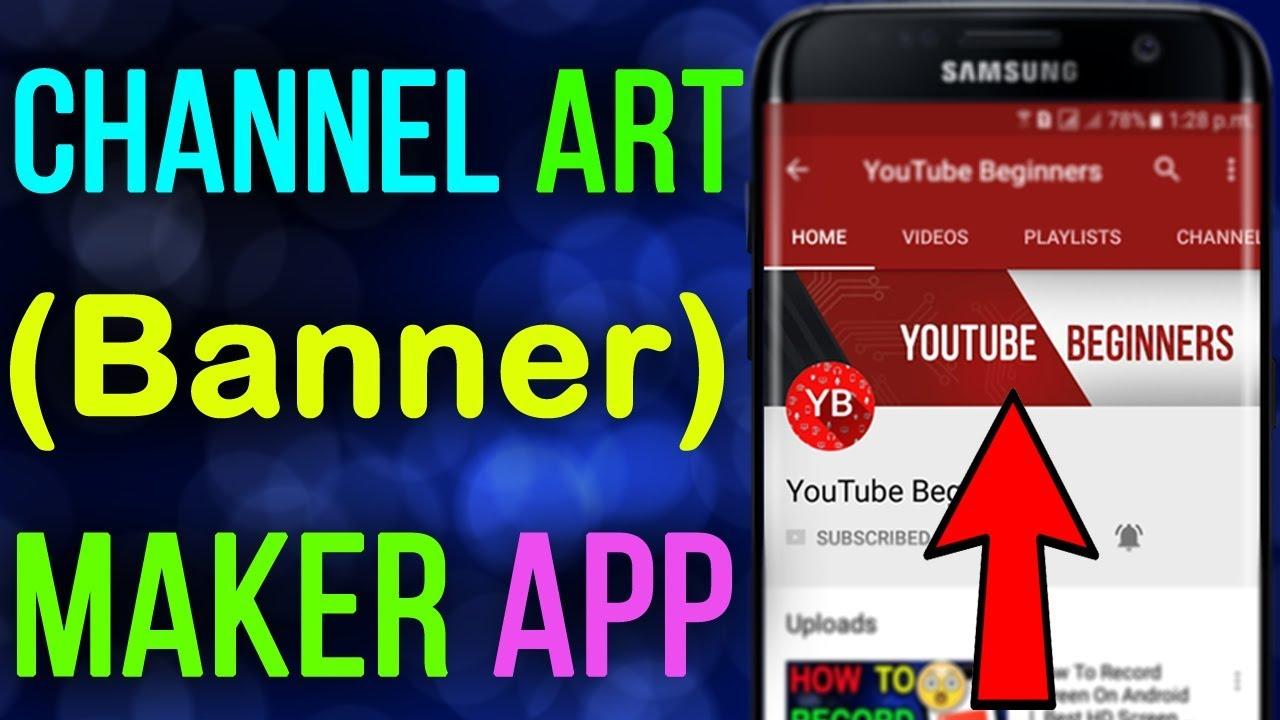 youtube channel banner maker