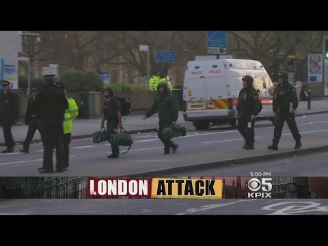 Deadly Terrorist Attack In London Puts City On Edge
