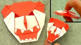 Origami Gargoyle | Flicker | Fidget Spinner | Finger Puppet
