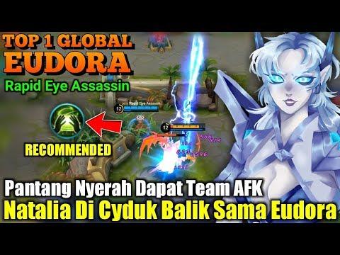 Insane Mage   Natalia Ngak Berkutik Kena Eudora - Top 1 Global Eudora Rapid Eye Assassin