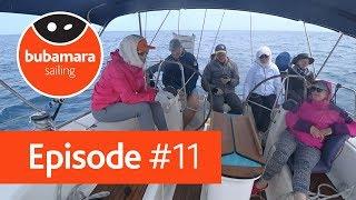Bubamara sailing. episode #11. Зустріч з «командою Б» в Бріндізі
