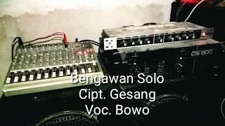 Keroncong Bengawan Solo Cipt. Gesang - Voc. Bowo