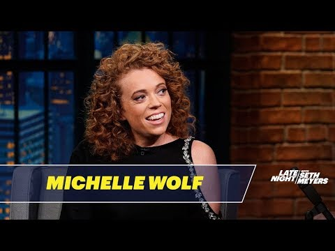 """Michelle Wolf Tells Seth Meyers """"Every Single Person Loved"""" Her WHCD Gig"""