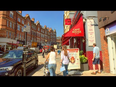 LONDON WALK Along Hampstead High Street From Rosslyn Hill To Heath Street | England