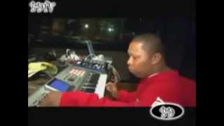 Mannie Fresh Making A Beat In The Studio
