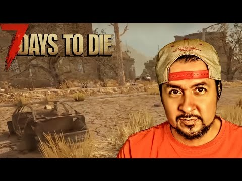 "7 DAYS TO DIE - STARVATION #18 ""VISITA A CENTRAL CITY"" | GAMEPLAY ESPAÑOL"