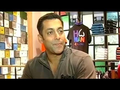 Salman launches Being Human store in Mumbai