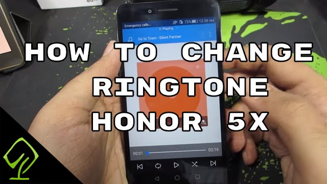 How to Change Ringtone and Notification tone on Huawei Honor 5X