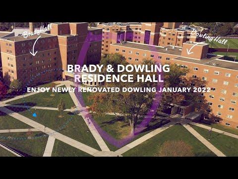 St. Thomas Brady & Dowling Residence Hall Tour