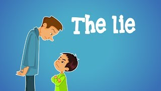 Islamic cartoon for kids in english - The lie - little muslim