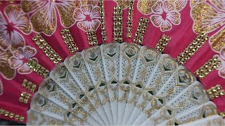 Another Way to Use a Silk Fan | Easy DIY Crafts Anyone Can Do
