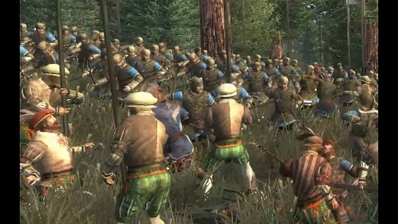 medieval 2 total war schlacht von sempach youtube. Black Bedroom Furniture Sets. Home Design Ideas