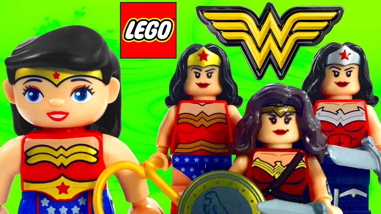 lego wonder woman dc comics minifigure collection