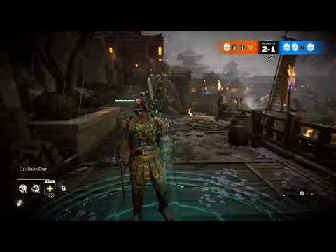 [For Honor] I PARRIED A ZERK'S SOFT-FEINT LIGHT!!! - You already know who I'm playing as...