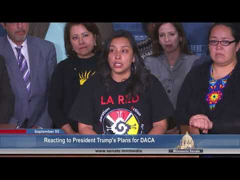 MN Dreamers And Supporters Respond To Trump's DACA Order - Full Event