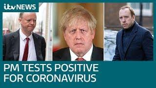 'We are all at risk': Boris Johnson and Matt Hancock and test positive for virus | ITV News