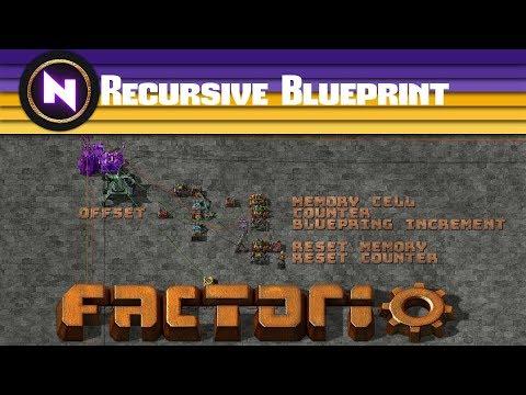 Factorio Engineering - Recursive Blueprint