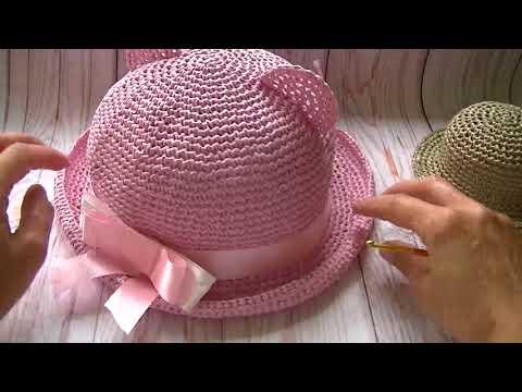 Как соединить регилин в полях шляпки с помощью термотрубки.